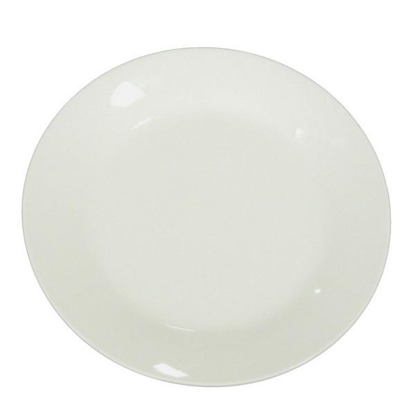 blank dessert plate