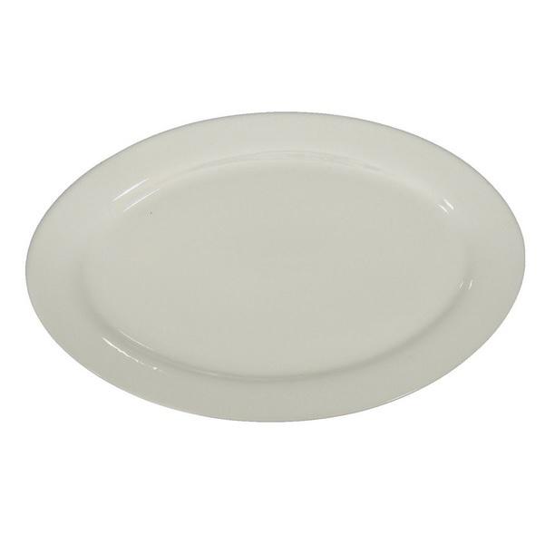 blank oval platter 36cm