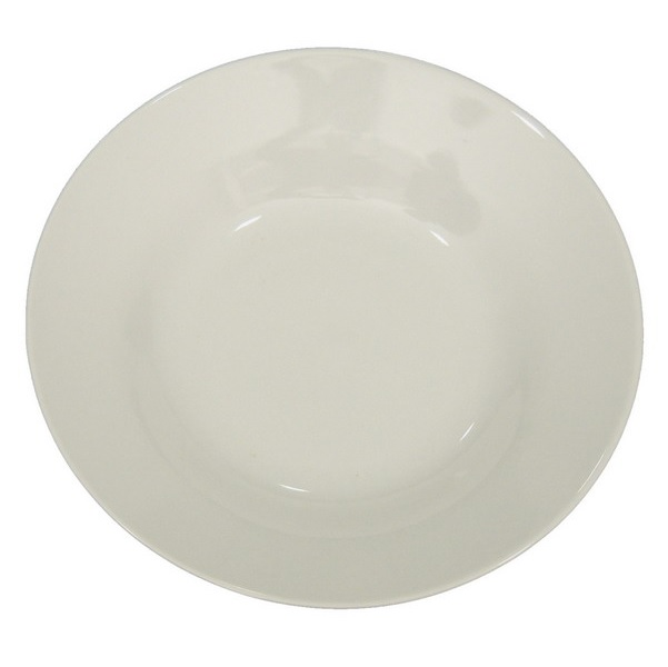 blank soup plate