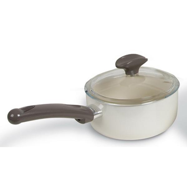 TVS Bianca ceramic non-stick saucepan