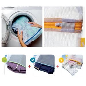 023-6087 Rayen set of 3 Laundry Wash Bags