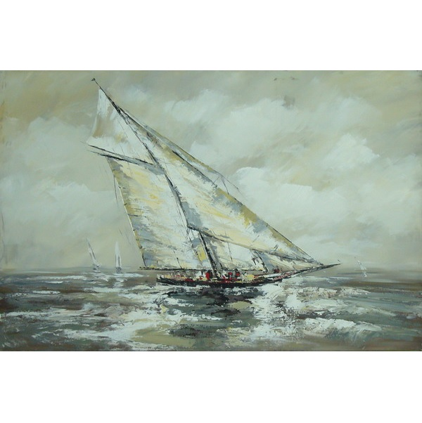 Canvas Painting 60x90 Sailboat